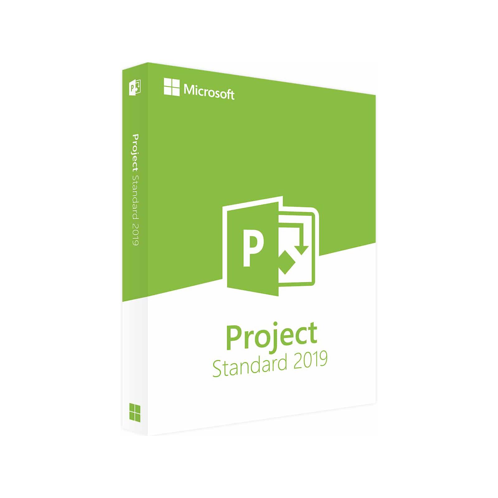 MICROSOFTPROJECT STANDARD 2019 32-BIT/X64 ENGLISH EM DVD